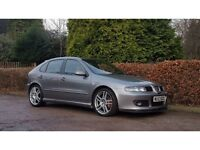 2003 SEAT LEON CUPRA R GREY 260 BHP NATIONWIDE DELIVERY WARRANTY CARD FACILITY AVAILABLE