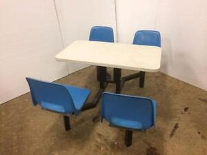Restaurant / Cafeteria Table and Chairs