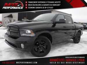 2016 Dodge Ram 1500 Sport R/T Black Edition Crew Cab FULL Cuir T