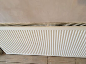 Double panel, single convector radiator