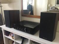 2 x Speakers and Amplifier (Pioneer) Full System
