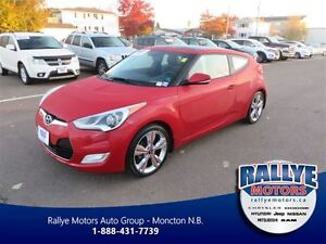2016 Hyundai Veloster Tech! ALMOST NEW! Back-Up! Alloy! Nav! Sun