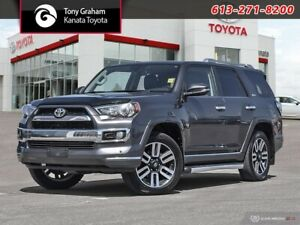 2015 Toyota 4Runner SR5 V6 Limited 4WD+Leather+Sunroof