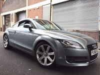 Audi TT 2007 3.2 V6 S Tronic Quattro AUTOMATIC, 3 door FULL SERVICE HISTORY, WARRANTY, LEATHER