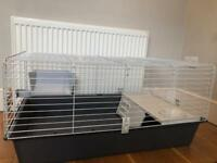 Indoor Rabbit Guinea Pig Cage - As Good As New!