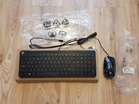 HP Keyboard SK-2028 + Mouse MSU1459 Brand New