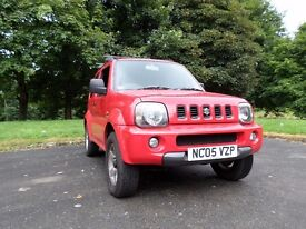 Suzuki Jimny 2005 Petrol in Good Condition, Red, MOT'd with Towbar