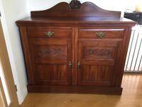 Antique Mahogany Sideboard - Beautiful Condition