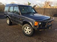 Land Rover discovery td5 off-road spec 1999 long mot drives well