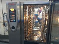 RATIONAL SCC COMBI OVEN 3 PHASE ELECTRIC CATERING COMMERCIAL KITCHEN RESTAURANT PERI PERI CHICKEN