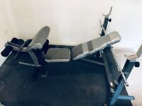 Multipurpose Bench Press (Chest- Biceps - Legs - Shoulders) - Weight Bench