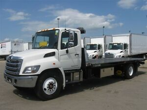 2017 Hino 358/271, NRC Tow Truck Carrier, 23 ft.deck with...