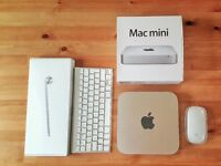 **reduced**Mac Mini LATE 2012, i5 4GB 500GB HD GRAPHICS + KEYBOARD + MOUSE **UPGRADABLE ON REQUEST**