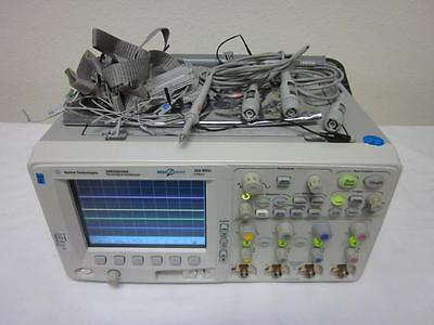 Agilent Hp Mso6034a 300 Mhz 4 Channel Mixed Signal Oscilloscope - Loaded