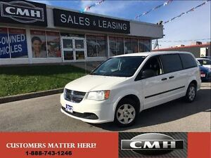 2012 Dodge Grand Caravan SE STOW 'N' GO *CERTIFIED*