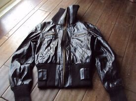 ladys jacket size 8 .blackby portobello punk