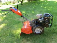 Husqvarna rotavator, 5.5 HP less than 20hours from new, briggs and stratton engine