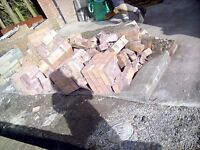 bricks secondhand FREE to collector