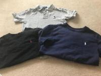 Boys Ralph Lauren T shirts