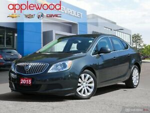2015 Buick Verano ONE OWNER, LOW KMS AND A COMFORTABLE DRIVE