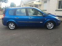 06 RENAULT GRAND SCENIC PRIV 130BHP 1.9DCI TOP SPEC 2 OWNERS FULL HISTORY 7 SEATS KEYLESS ENTRY PX