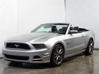 2013 Ford Mustang GT / Nav. / Cuir / Mags 19po / Convertible