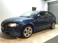 2005 AUDI A3 SPORT 1.9 TDI 6 GEARS MANUAL 5 DOOR HATCHBACK FULL YEAR MOT JUST DONE SERVICE HISTORY