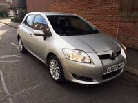 2007 TOYOTA AURIS TR VVT-I-S-A , ONE OWNER FROM BRAND NEW , FULL SERVICE HISTORY