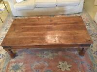 Antique Sheehan Wooden Coffee Table
