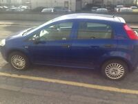 56 reg fiat punto grande 1.2 for sale £699 MOT UNTIL JAN 2018
