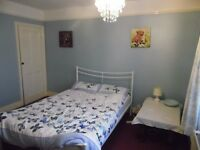 Large double room in a 4 bed semi detached house with other professionals and live in landlords
