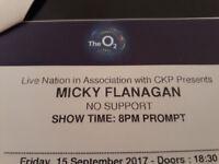 Mickey Flanagan Tickets 02 Arena