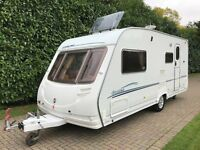 Sterling Eccles Moonstone 4 Berth 2006 Caravan with Side Dinette and End Washroom