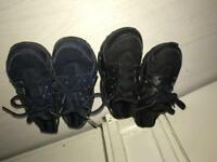 Navy blue & Black Nike Trainers