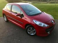 Peugeot 207 1.4L 3Dr In Prestige Condition! FULL SERVICE HISTORY/1 Year MOT/HPI Clear