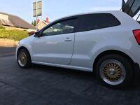 Genuine BBS Lenso alloy wheels 5x100 VW Audi Seat skoda