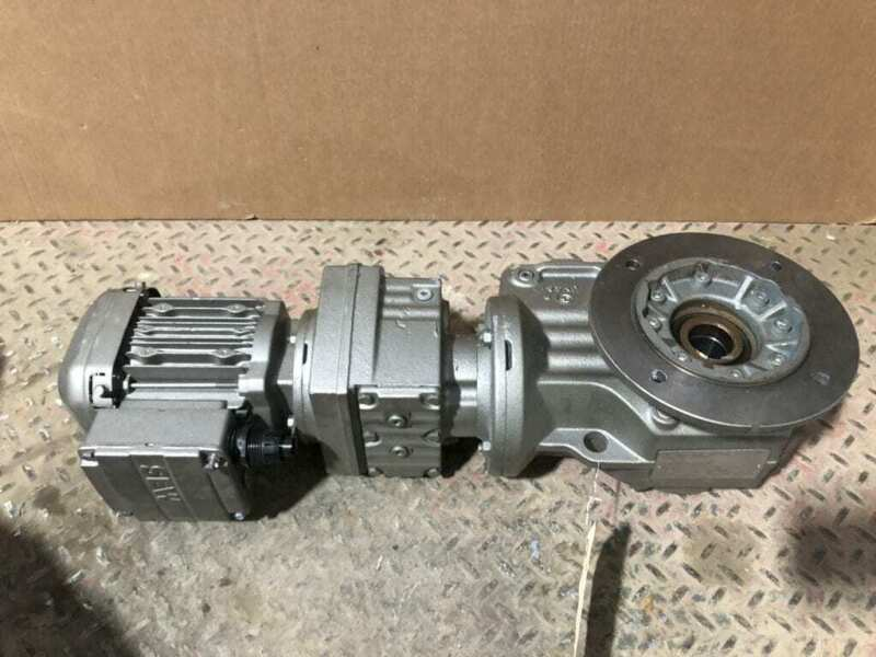 Sew-Eurodrive KAF47R37DRS71S4/DH 0.25HP Gear Drive/Speed Reducer 4RPM 426:1 3PH