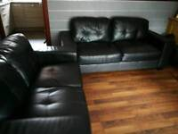 Excellent condition leather sofas