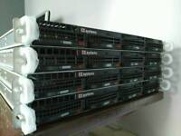 4x Supermicro X7DWU Phoenix Trusted Core Servers
