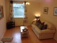 Immaculate, modern, 2 bed G/Flat.fully furnished & totally equipped with off street parking. 600PCM