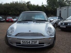 MINI COOPER 2004 54 1.6 LTR PETROL 69000 MILES 1 YEAR FRESH MOT WARRANTIED GREAT CONDITION!!!