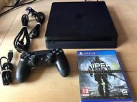 Latest PS4 slim with sniper 3 receipt and warranty