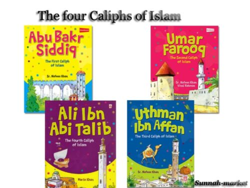 The four Caliphs of Islam -islamic books for kids (4 books)
