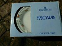 Mandarin 18 piece tea set BNIB