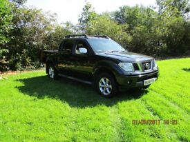 Nissan Navara Double Cab Pic-up Top Spec SatNav **71k 1previous owner**NO VAT**