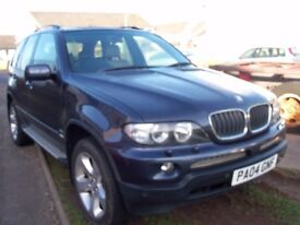SW BMW X5 DIESEL SPORT EST WITH SERVICE HISTORY SELL OR SWAP W H Y