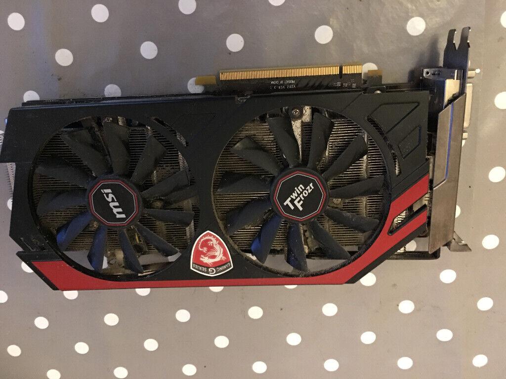 MSI GeForce GTX 770 Twin Frozr Gaming Edition Graphics Card - 2GB | in  Kingsbury, Staffordshire | Gumtree