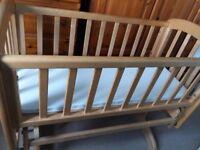 Mamas and Papas rocking crib