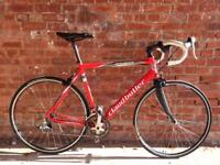 LIGHTWEIGHT ALUMINIUM AND CARBON FIBRE CLAUD BUTLER ROAD RACING BIKE IDEAL STUDENT COMMUTER BICYCLE
