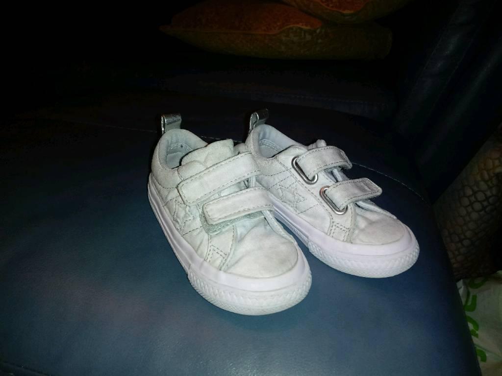 Toddler boys Converse. Size 7.  a9dd319532d7